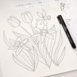 Draw Your Composition in Pencil