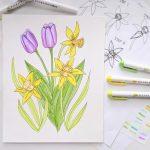 Simple Spring Flower Tutorial
